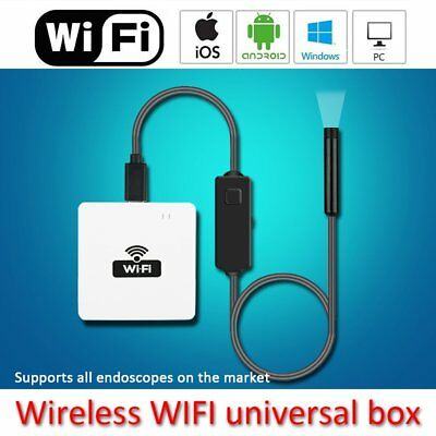 Wireless WiIP Box To USB Endoscope Inspection Camera For IOS Android New KN