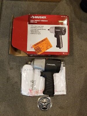 *Brand New - Husky 3/8 in. 250 ft. lbs.  Impact Wrench H4425