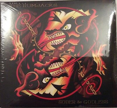 The Rumjacks ‎– Sober & Godless CD  Punk, Folk Rock, Oi