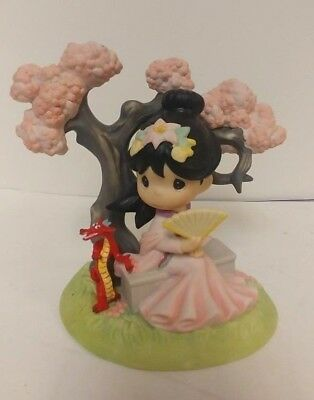 Precious Moments A Blossom is Never too Late to Bloom Mulan Figurine Disney