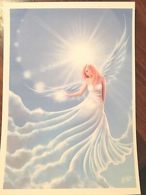 'Release Angel' A4 Print *NEW Angels, Spiritual, Pagan, Metaphysical fairy wicca