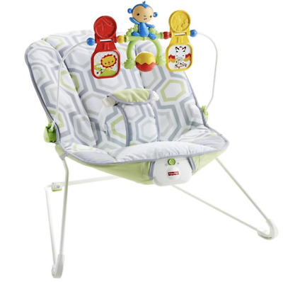 NEW Baby Jumpers and Bouncer Fisher-Price Chair for Baby girl or boy Geo Meadow