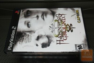 Haunting Ground (PlayStation 2, PS2 2005) COMPLETE! - RARE! - EX!