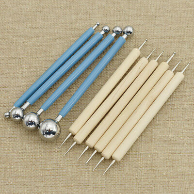 10pcs Ball Stylus Dotting Modeling DIY Tools Kit For Mandala Rock Painting
