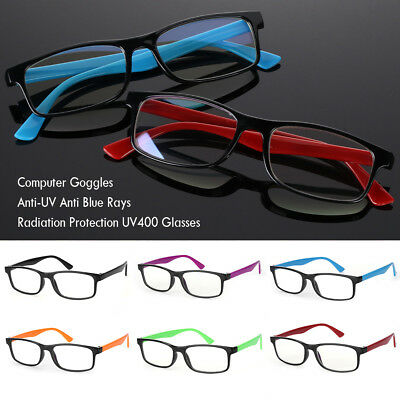 Gaming Anti Blue Rays Glasses Radiation Protection Anti-UV Computer Goggles