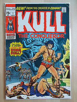 Kull The Conqueror 12 Comic Books Lot #1 2 7 8 10 12-14+ Marvel Bronze Destroyer