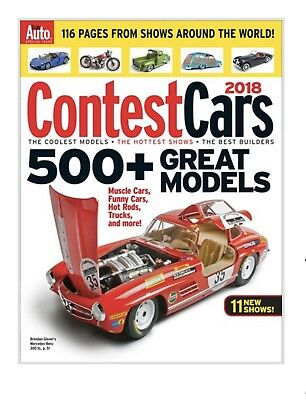 Scale Auto Special Issue: CONTEST CARS 2018 - 500+ Great Models