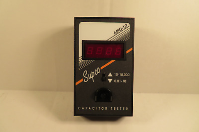 Supco Model Mfd10 Capacitor Tester Black