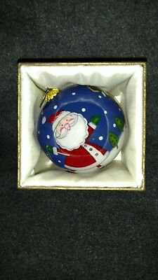 New in Box Li Bien SANTA WITH FRIENDS Christmas Ornament  from Pier1Imports 2015