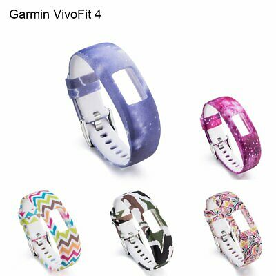 Silicone Replacement Band Strap Watch Wristband For Garmin VivoFit 4 Tracker EA