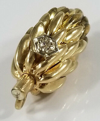 Gold~TOP BANANA~ Diamond Charm OWNED BY ROSE MARIE PHIL SILVERS 1950's
