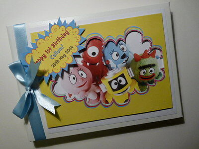Personalised  First/1St Birthday Guest Book - Any Design