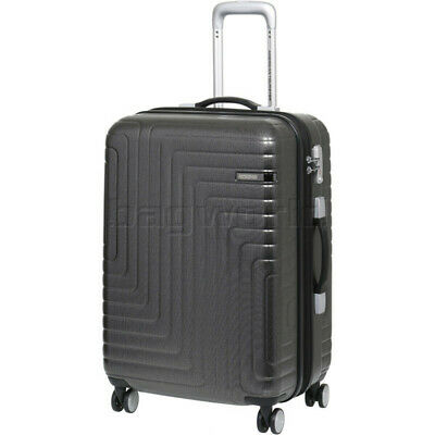 American Tourister Dartz Medium 65cm Hardside Suitcase Black Checks 87024