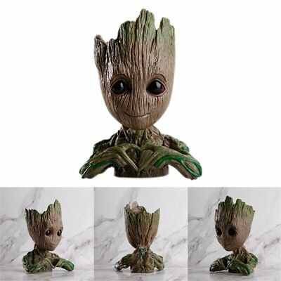 Guardians of The Galaxy Vol. 2 Baby Groot Action Figure Flowerpot Pen Pot Toy KU
