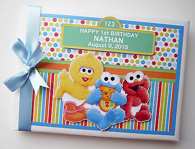 Personalised Kids Tv Characters Birthday / Baby Shower Guest Book Any Design
