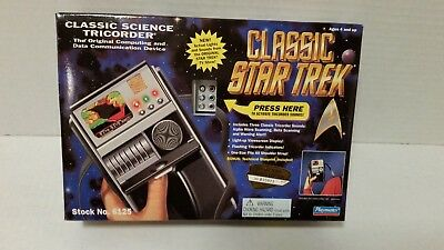 Playmates Star Trek Classic Science Tricorder Collector Series Edition TOS