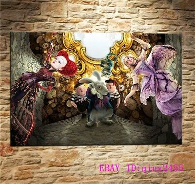 Alice in Wonderland,HD Print Art Home Decor Oil Painting on Canvas 36X24INCH