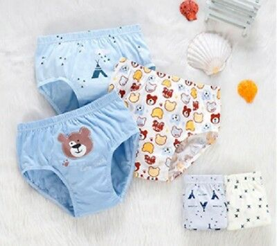 Kids Boy Cotton Underwear Pants Cartoon Car for Baby Children Boxer Underpants