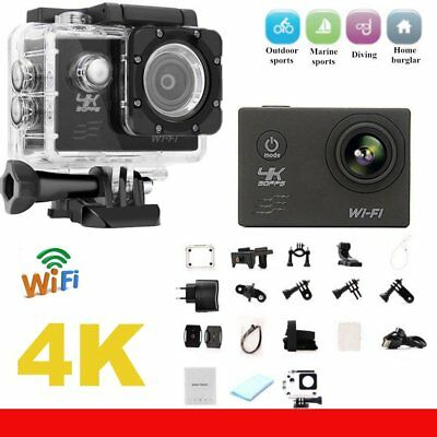 F60 Wifi Action Camera 16MP 170 gradi grandangolare Sport DV impermeabile TD