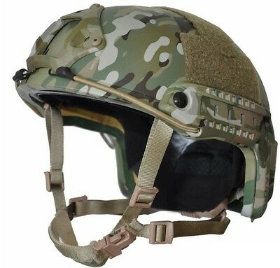 MULTI-CAM High Cut (Special Forces) Ballistic  Helmet---