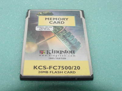 KINGSTON 20MB FLASH MEMORY PCMCIA LINEAR CARD 2kb Attri