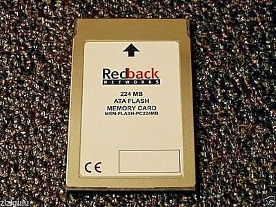 NEW REDBACK 224MB PCMCIA Flash ATA PCMCIA Memory CARD TYPE1