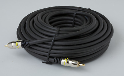 Ultra Premium RCA/Subwoofer Home Theatre Cable - 10m
