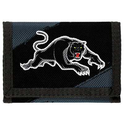 98208 Penrith Panthers Nrl Team Logo Kids Nylon Wallet Gift Idea