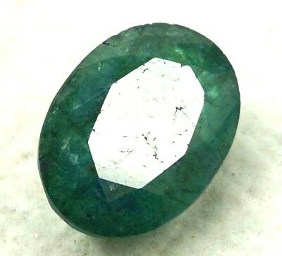9.65 Ct GGL Certified Natural Emerald Breathtaking Look Oval Cut Gem Best Offer