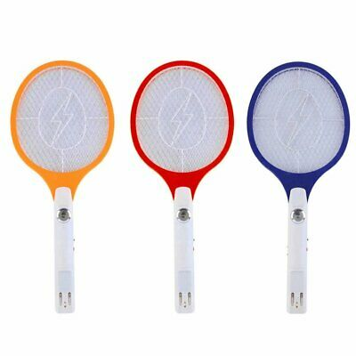 Rechargeable Electric Mosquito Fly Swatter Killer Bug Insect Pest Wasp Racket EA