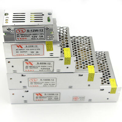 DC12V/5V/24V Driver AC 230V 220V Power Supply Transformer for LED Strip Light
