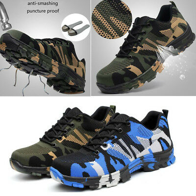 2018 Safety Boots Fashion Men's Indestructible Protection Shoes Steel Toe