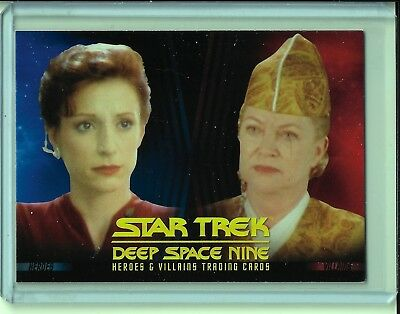 Star Trek Deep Space Nine Heroes and Villains Promo Card P2 NSU DS9 SFC