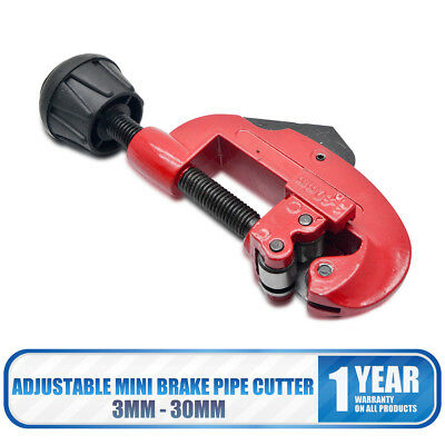 Adjustable Mini Tube Cutter Brake Pipe Cutting Tool Copper Plastic 3mm - 30mm