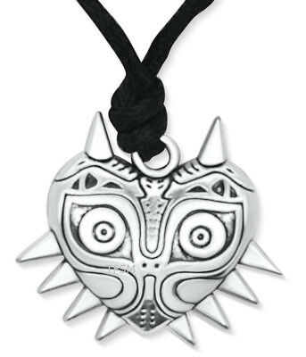 Inspired by Legend of Zelda Majora's Mask Pendant Necklace 3D Two Sided Majora