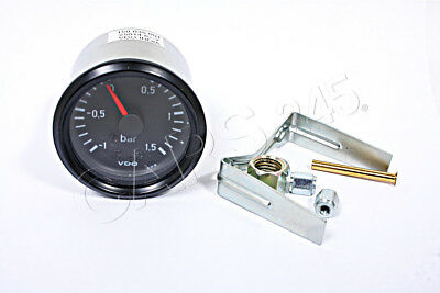 VDO Mechanical Boost Vacuum Gauge 1.5 BAR 52mm 12V 150-035-001G