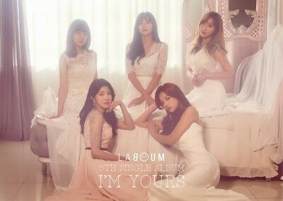 LABOUM - I'M YOURS (6th Single Album) CD+Photocard+Folded Poster+Tracking no.