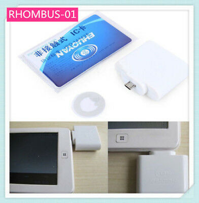UID Adaptible RFID Reader Micro Usb 4/7 Bytes  for Android NFC