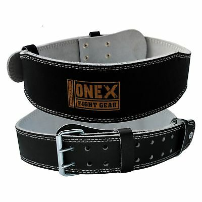 Fitness Power Back Gym Weight Lifting Belt Training Ladies / Men pure Leather