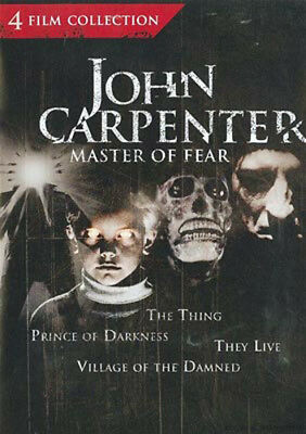 The Thing 1982 / Prince of Darkness / They Live / Village of Damned 1995 DVD NEW