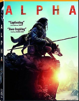Alpha (Dvd,2018) New*  Free Shipping