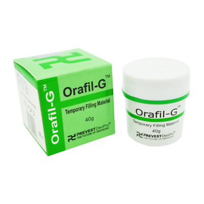 Tooth White Filling Permanent Orafil G Dental Cement Self Cure Mega Kit