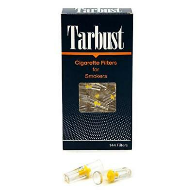 Disposable Cigarette Filters, 144 Filters Cut The Nic with Efficient Tar Block
