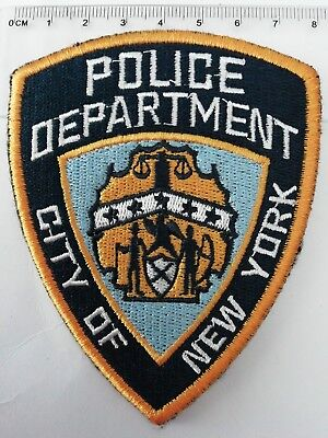Parche bordado NYPD NEW YORK POLICE