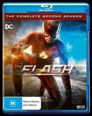 The Flash Season 2 DC Blu-ray Region B (New)