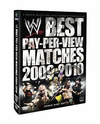 Coffret 3 DVD Catch WWE : Best pay per view Matches 2009 2010 - NEUF