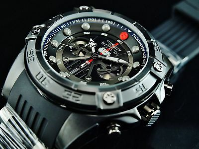 Invicta Star Wars 52mm Darth Vader Limited Edition Chronograph Black SS Watch