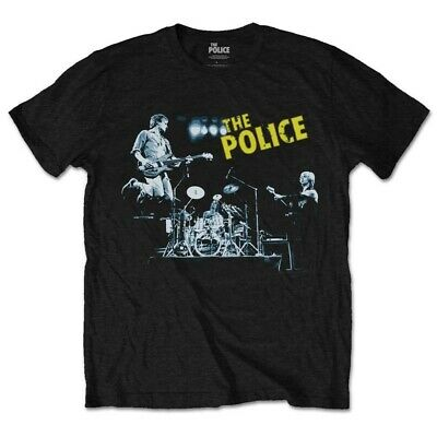 The Police Live In Concert Sting Rock oficial Camiseta para hombre
