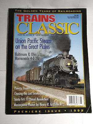 Classic Trains Premier Issue 1999 UP BO SF