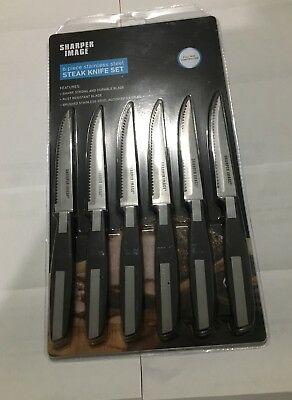 Sharper Image Stainless Steel Easy Chopper Spin Rotation Blades 8